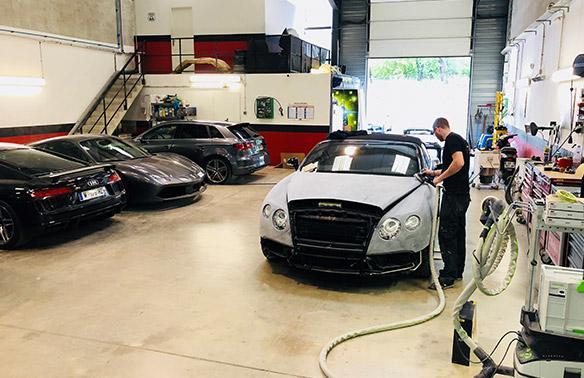 Réparation carrosserie Mougins