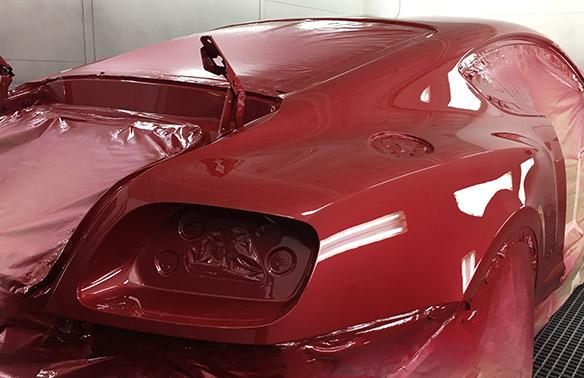 Refaire peinture voiture Mougins